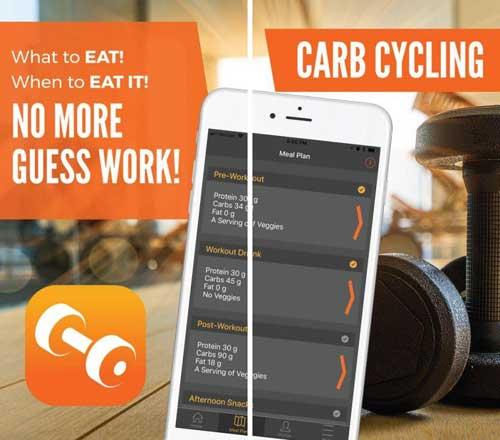 تطبيق Carb Cycling لمتابعة بناء ورياضة جسمك