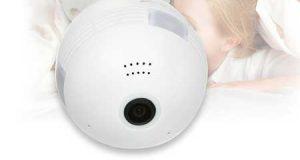 كاميرا KKmoon Wireless 960PH - مصباح ذكي مدمج معه كاميرا مراقبة