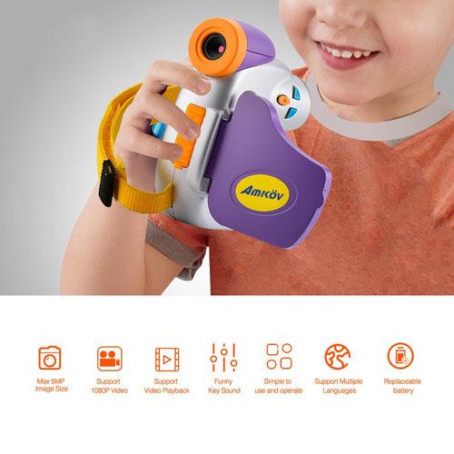 كاميرا Amkov DV-C7 للأطفال بأفضل مزايا التصويركاميرا Amkov DV-C7 للأطفال بأفضل مزايا التصوير