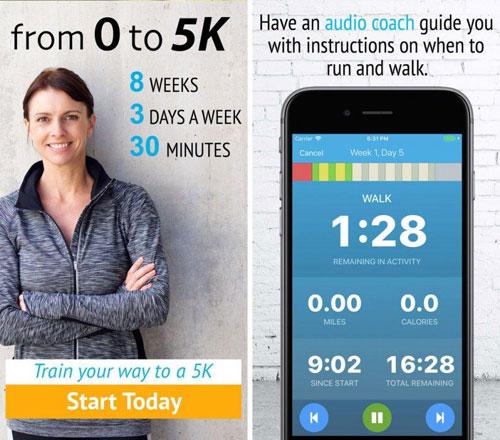 تطبيق 5K Trainer دليلك للجري - مجانا لوقت محدود