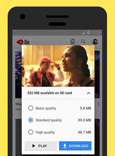 تطبيق Youtube Go للتحميل من يوتيوب أصبح متوفراً للجميع!تطبيق Youtube Go للتحميل من يوتيوب أصبح متوفراً للجميع!