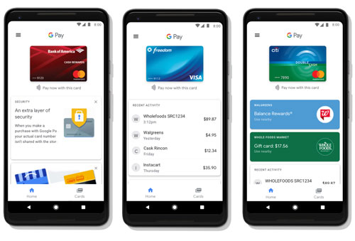 تطبيق Google Pay الخاص بخدمة الدفع الالكترونية من جوجل