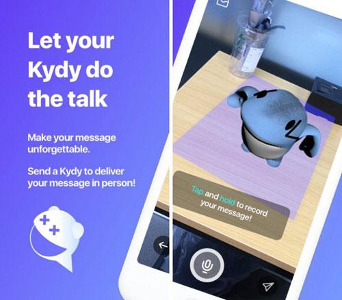 تطبيق Kydy فكرة ظريفة لتوصيل الرسائل
