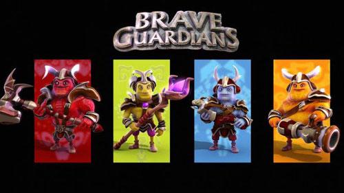 لعبة Brave Guardians TD الاستراتيجية المميزة