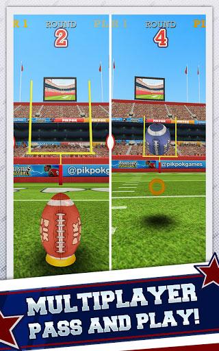 لعبة Flick Kick لمحبي كرة القدم الأمريكية