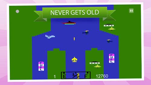 لعبة River Raid Original حروب الطائرات الكلاسيكية