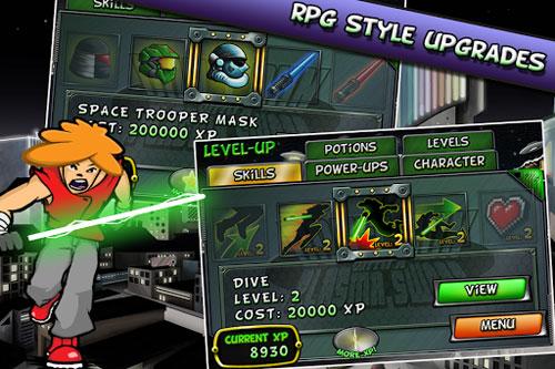 لعبة Don't Run With a Plasma Sword من الألعاب الكلاسيكية