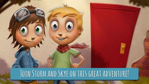تطبيق Storm & Skye الاستكشافي للأطفال