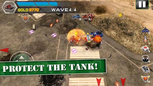لعبة Immortal Tanks - حروب الدبابات المتطورة مع كثير من التحدي