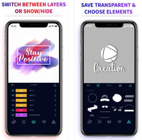 تطبيق Logo Maker الاحترافي لتصميم الشعارات والبطاقات