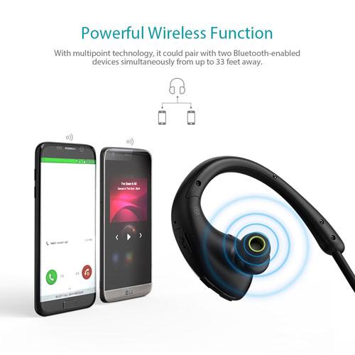 احصل على سماعات dodocool Foldable اللاسلكية الاحترافية بعرض كبير !