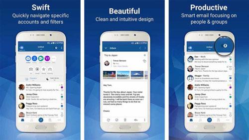 تطبيق Blue Mail لإدارة بريدك الالكتروني باحترافية