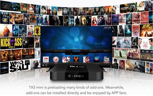 عرض على جهاز Tanix TX3 - لتحويل تلفازك إلى تلفاز ذكي بنظام الأندرويد