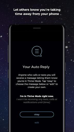 تطبيق THRIVE للتخلص من إدمان الهواتف الذكية