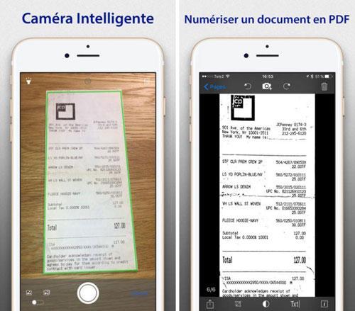 تطبيق SharpScan Pro + OCR لتحويل الأيفون لمساح ضوئي
