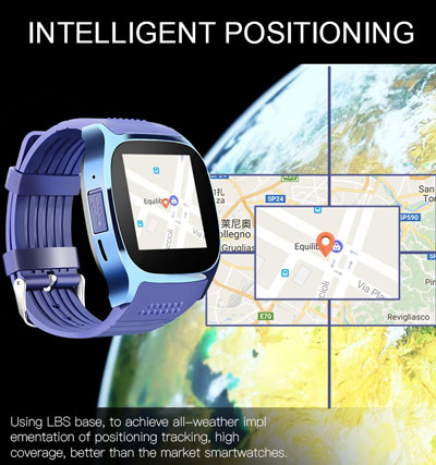 ساعة LYNWO T8 الذكية