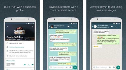 تطبيق WhatsApp Business الخاصة بالشركات