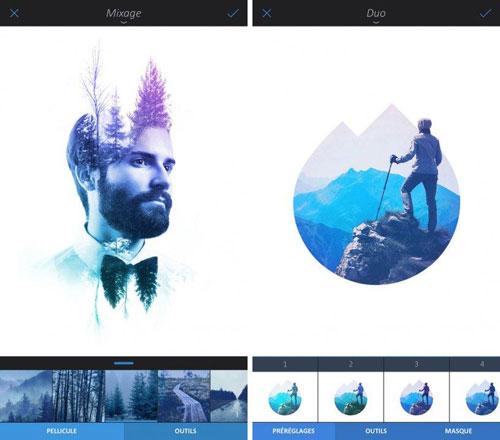 تطبيق Enlight لتحويل صورك لتحف فنية
