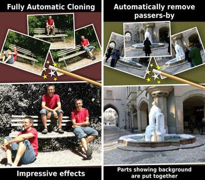 تطبيق ClonErase Camera لتكرار العناصر او حذفها من الصور