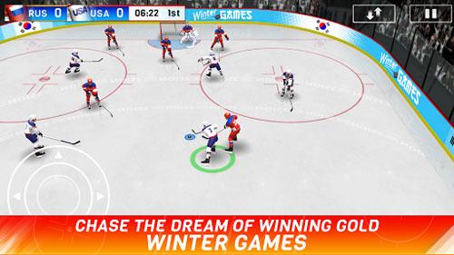 لعبة Hockey Nations 18 لمحبي الهوكي المميزة !