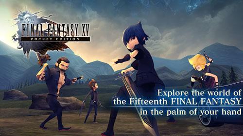 لعبة FINAL FANTASY XV POCKET EDITION تصل لمتجر التطبيقات