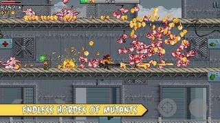 لعبة Mutants إحدى الألعاب الكلاسيكية المميزة