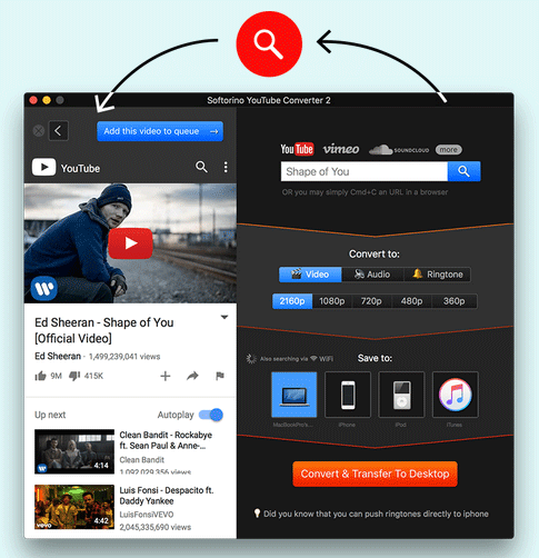 Softorino YouTube Converter 2