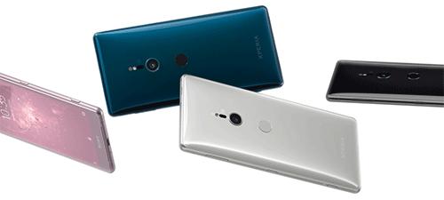 يتوفر تصميم Sony Xperia XZ2 بعدة ألوان مميزة