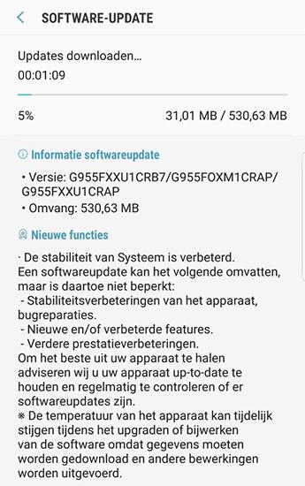 سامسونج تستأنف مجدداً إطلاق تحديث Android Oreo لهواتف جالكسي إس 8
