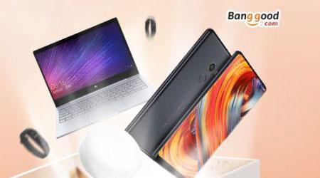 عروض كبيرة على منتجات Xiaomi مع ميزة الدفع عند التسليم من متجر banggood