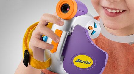 عرض مذهل: كاميرا Amkov DV-C7 للأطفال بأفضل مزايا التصوير