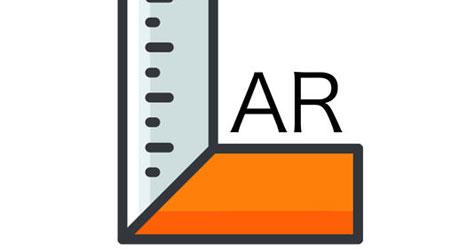 تطبيق Augmented tape measure