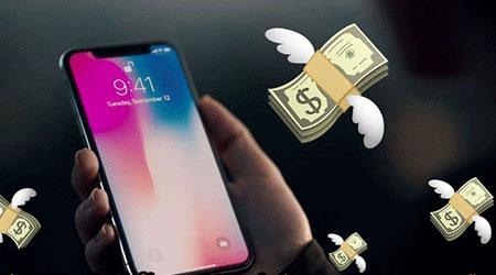للمرة الأولى - الايفون يستحوذ على 51% من عائدات الهواتف الذكية!