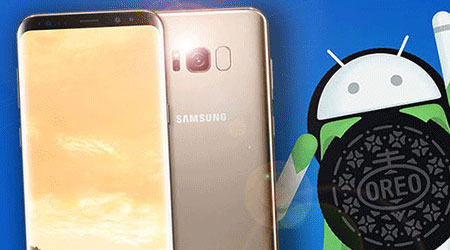 سامسونج تستأنف مجدداً إطلاق تحديث اندرويد Oreo لهواتف جالكسي إس 8