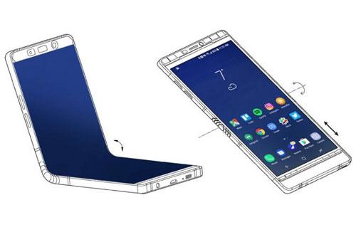 سامسونج - هاتف جالكسي X بشاشة قابل للطي - حقيقة وليس خيال !