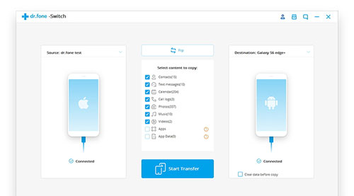 شرح: كيف تقوم بنقل محتوى هاتفك القديم إلى الجديد بخطوة واحدة !
