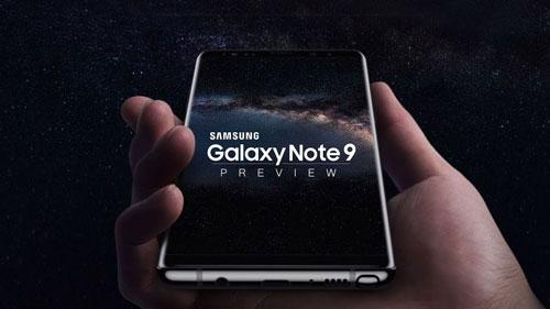 هل سيحمل هاتف جالكسي نوت 9 مستشعر البصمات ضمن الشاشة ؟
