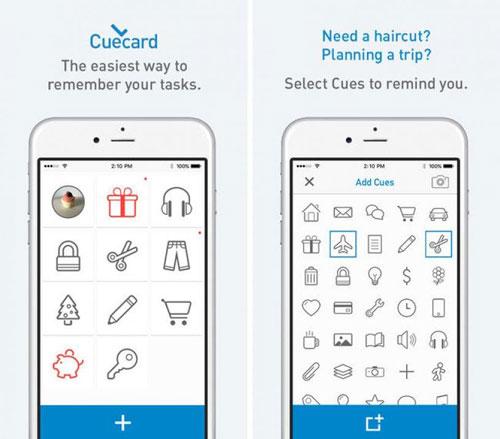 تطبيق Cuecard لتنظيم أعمالك اليومية