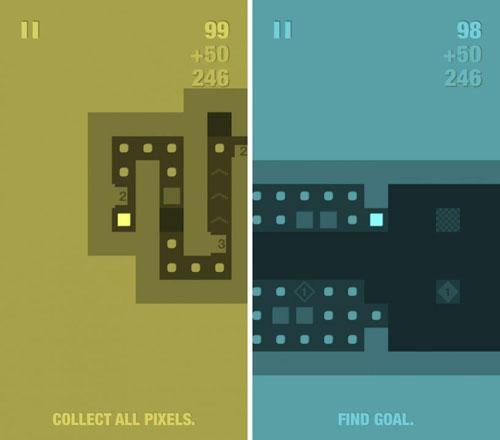 لعبة PixelMaze لتحدي الألغاز الهندسية