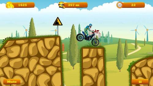 لعبة Moto Hero لقيادة دراجات نارية مغامراتية