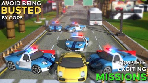 لعبة Hotfoot - City Racer متعة القيادة