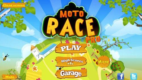 لعبة Moto Race Pro تحدي قيادة الدراجات النارية