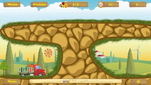 لعبة HappyTruck لقيادة الشاحناتلعبة HappyTruck لقيادة الشاحنات