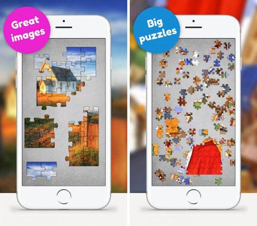 لعبة Jigsaw Puzzle App لتركيب القطع
