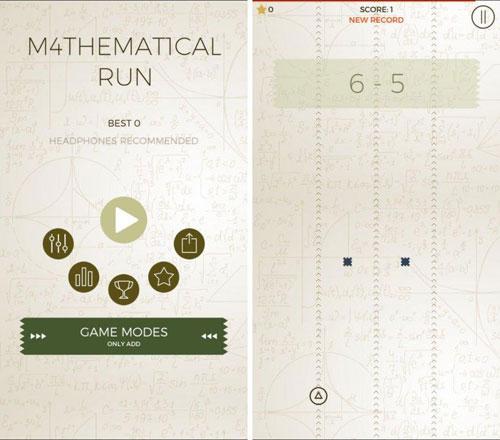 لعبة Mathematical Run لتعلم الرياضيات