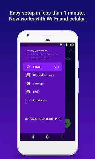 تطبيق Weblock لحظر الإعلانات وتسريع التصفح