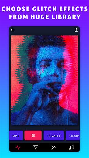 تطبيق Glitch VHS Art Camera لتغبيش الصور والفيديو باحترافية