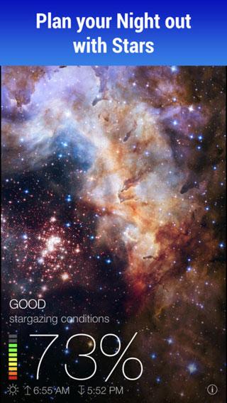 تطبيق Sky Live لمحبي الفضاء والنجوم