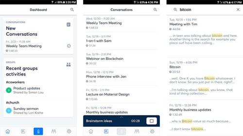تطبيق Otter Voice Meeting Notes لإدارة الملاحظات الصوتية