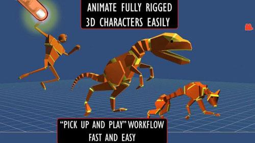 تطبيق Anim8 لتصميم الشخصيات ثلاثية الأبعاد